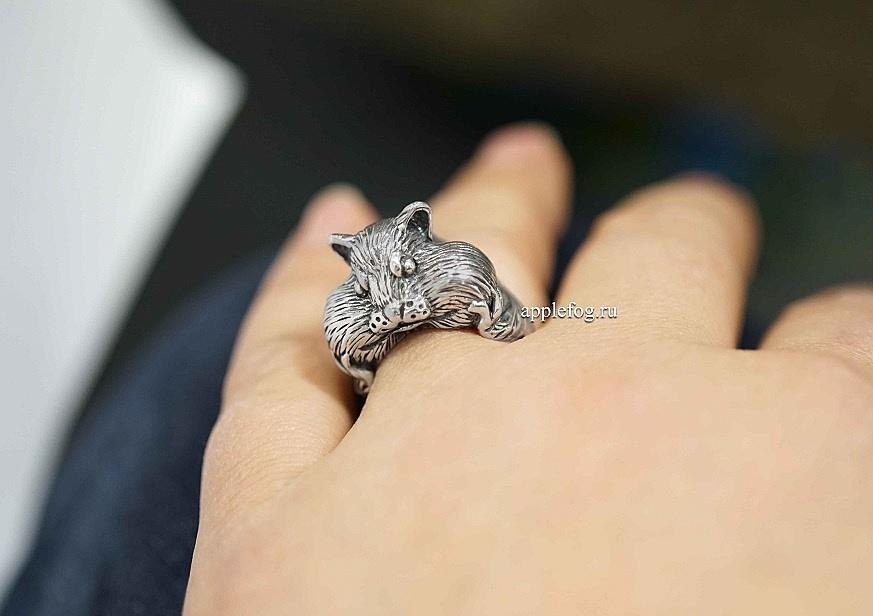 кольцо хомяк