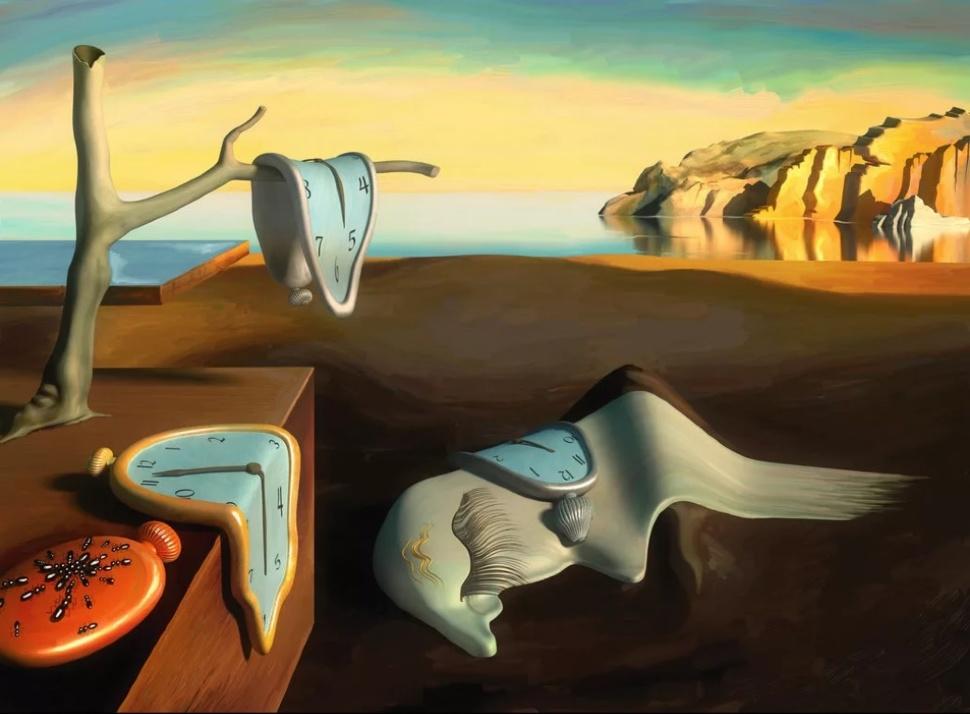История создания картины «постоянство памяти» известна от самого дали.